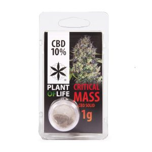 CBD Solid 10% Critical Mass Plant Of Life