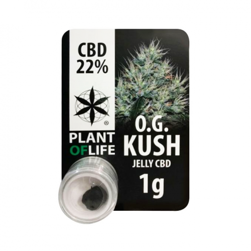 CBD Jelly 22% OG Kush Plant Of Life